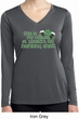 Ladies Shirt Official Drinking Shirt Dry Wicking Long Sleeve Tee