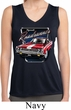 Ladies Shirt Plymouth Roadrunner Sleeveless Moisture Wicking Tee