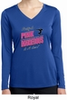 Ladies Shirt Pretty in Pink Dry Wicking Long Sleeve Tee T-Shirt