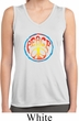 Ladies Shirt Psychedelic Peace Sleeveless Moisture Wicking Tee