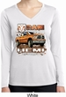 Ladies Shirt Ram Hemi Trucks Dry Wicking Long Sleeve Tee T-Shirt