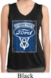 Ladies Shirt V8 Genuine Ford Parts Sleeveless Moisture Wicking Tee