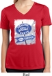 Ladies Shirt Vintage Sign Genuine Ford Moisture Wicking V-neck Tee