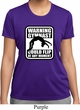 Ladies Shirt Warning Gymnast Could Flip Moisture Wicking Tee T-Shirt