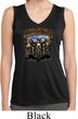 Ladies Shirt Who Let The Hawgs Out Sleeveless Moisture Wicking Tee
