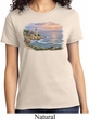 Ladies Sunset Shirt Sunset at Lighthouse Point Tee T-Shirt