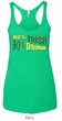 Ladies Tanktop 10% Irish 90% Drunk Tri Blend Racerback Tank Top