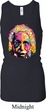 Ladies Tanktop Albert Einstein Longer Length Racerback Tank Top