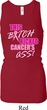 Ladies Tanktop Kicked Cancers Ass Longer Length Racerback Tank Top