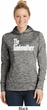 Ladies The Godmother White Print Dry Wicking Hoodie