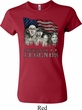 Ladies Three Stooges Shirt Rushmorons Crewneck Tee T-Shirt