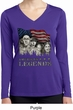 Ladies Three Stooges Shirt Rushmorons Dry Wicking Long Sleeve Tee