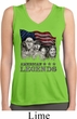 Ladies Three Stooges Shirt Rushmorons Sleeveless Moisture Wicking Tee