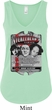 Ladies Three Stooges Tanktop Nyukleheads Garage Flowy V-neck Tank Top