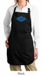 Ladies Yoga Apron Floral Ajna Full Length Apron with Pockets