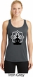Ladies Yoga Buddha Lotus Pose Dry Wicking Racerback