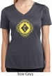 Ladies Yoga Diamond Manipura Moisture Wicking V-neck