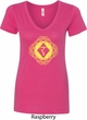 Ladies Yoga Diamond Manipura V-Neck