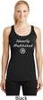 Ladies Yoga Heavily Meditated with OM Dry Wicking Racerback