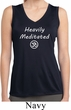 Ladies Yoga Heavily Meditated with OM Dry Wicking Sleeveless Shirt