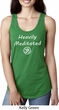Ladies Yoga Heavily Meditated with OM Ideal Racerback
