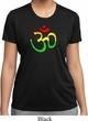 Ladies Yoga Rasta Aum Moisture Wicking T-shirt