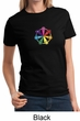 Ladies Yoga Shirt 7 Chakra Circle Tee T-Shirt