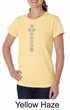 Ladies Yoga Shirt 7 Chakras Meditation Organic T-shirt