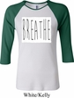 Ladies Yoga Shirt Breathe Raglan Tee T-Shirt