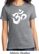 Ladies Yoga Shirt Brushstroke Aum Tee T-Shirt