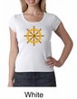 Ladies Yoga Shirt Dharma Scoop Neck Tee T-Shirt
