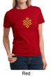 Ladies Yoga Shirt Endless Knot Tee T-Shirt