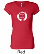 Ladies Yoga Shirt Enso Happiness Longer Length Tee T-Shirt