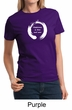 Ladies Yoga Shirt Enso Happiness Tee T-Shirt
