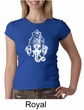 Ladies Yoga Shirt Ganesha Head Crewneck Tee T-Shirt