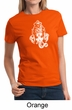 Ladies Yoga Shirt Ganesha Head Tee T-Shirt