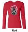Ladies Yoga Shirt Ganesha Long Sleeve