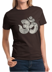 Ladies Yoga Shirt Ganesha OM Tee T-Shirt