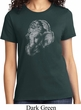 Ladies Yoga Shirt Ganesha Profile Tee T-Shirt