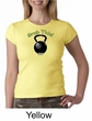 Ladies Shirt Grab This Kettle Bell Crewneck Tee T-Shirt