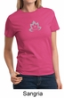 Ladies Yoga Shirt Grey Namaste Lotus Tee T-Shirt