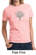 Ladies Yoga Shirt Grey Tree of Life Tee T-shirt