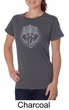 Ladies Yoga Shirt Iconic Ganesha Organic Tee T-Shirt