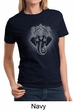 Ladies Yoga Shirt Iconic Ganesha Tee T-Shirt