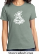 Ladies Yoga Shirt Krishna Tee T-Shirt