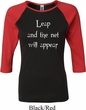 Ladies Yoga Shirt Leap Raglan Tee T-Shirt
