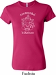 Ladies Yoga Shirt Namaste Bitches Crewneck Tee T-Shirt