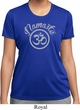 Ladies Yoga Shirt Namaste Om Moisture Wicking Tee T-Shirt