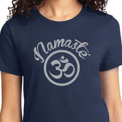Ladies Yoga Shirt Namaste Om Tee T-Shirt