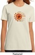 Ladies Yoga Shirt Ohm Sun Organic Tee T-Shirt